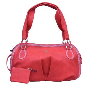 Red Womens Tote Handbag