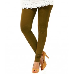 Mehndi Green Women's Cotton Leggings