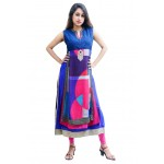 Charu Boutique Designer Georgette Layer Kurti