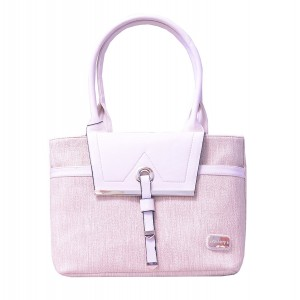 Beige Pu Leather Womens Handbag