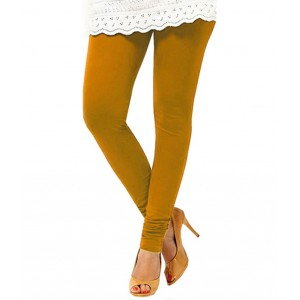 Mustard Cotton Leggings
