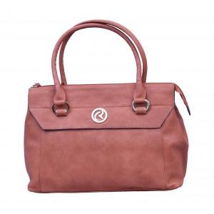 Charu Boutique Premium leather Handbag for Women Brown