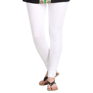White Cotton Leggings